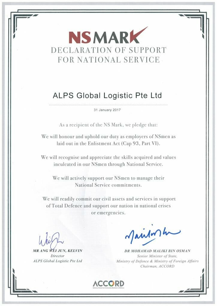 ALPS Global Logistics Pte Ltd