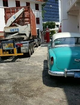 Importing of Antique Vehicle for exhibition